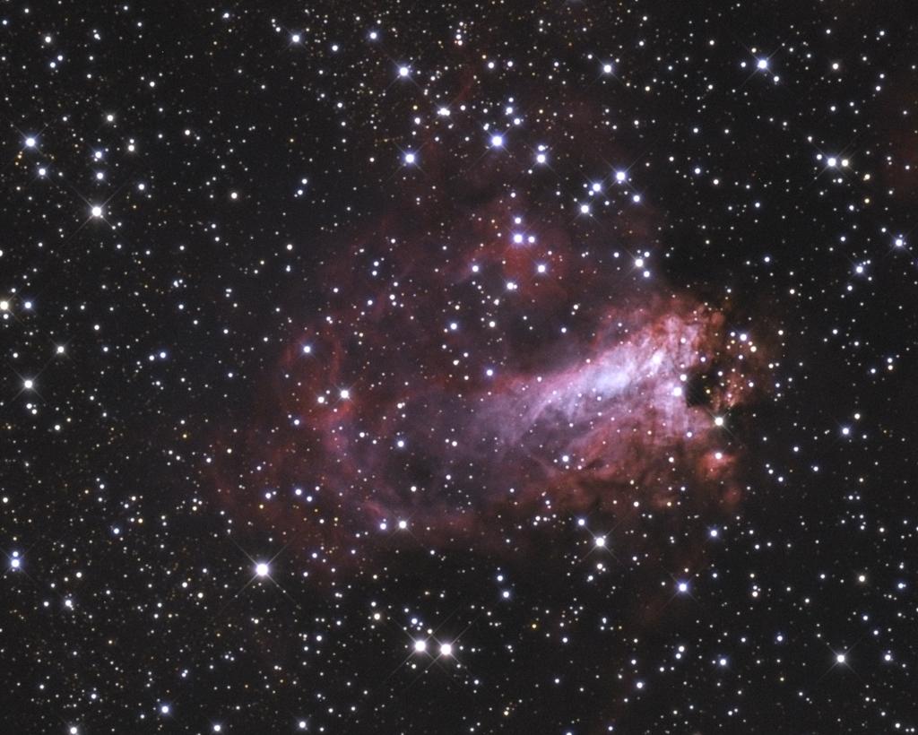omega nebula 8 inch telescope - HD1024×820